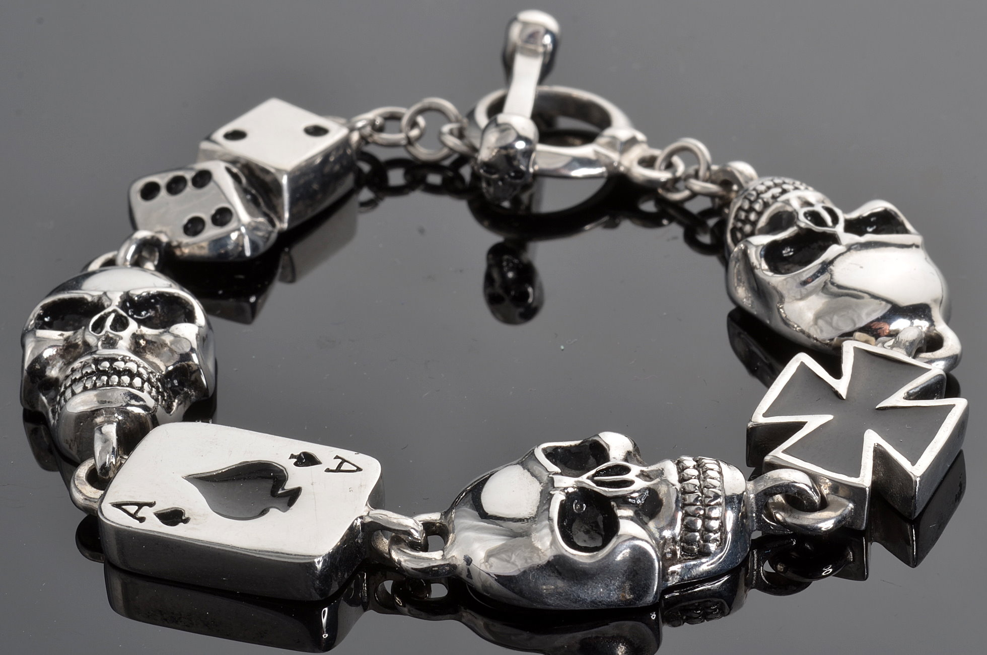 Image result for Biker Jewelry